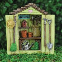 Fiddlehead Garden Shed