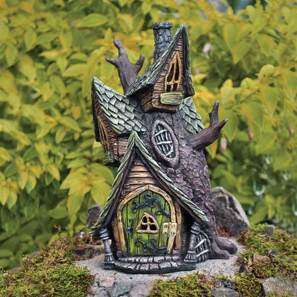 Fiddlehead Tree House Fairy Home