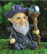 Fairy Garden Figurines- Wizard