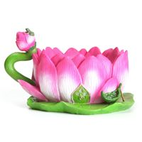 Lotus Cup Planter- Fiddlehead Miniature Gardens
