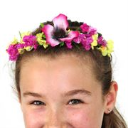 wholesale floral head garlands
