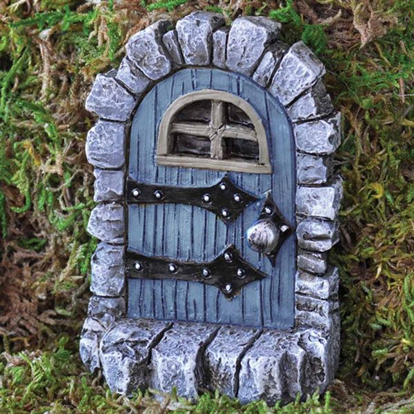 Fiddlehead Stone Fairy Door