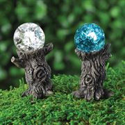 Fiddlehead Gazing Ball Stakes