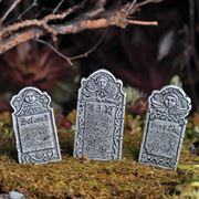 Miniature Garden Accessories- Headstones